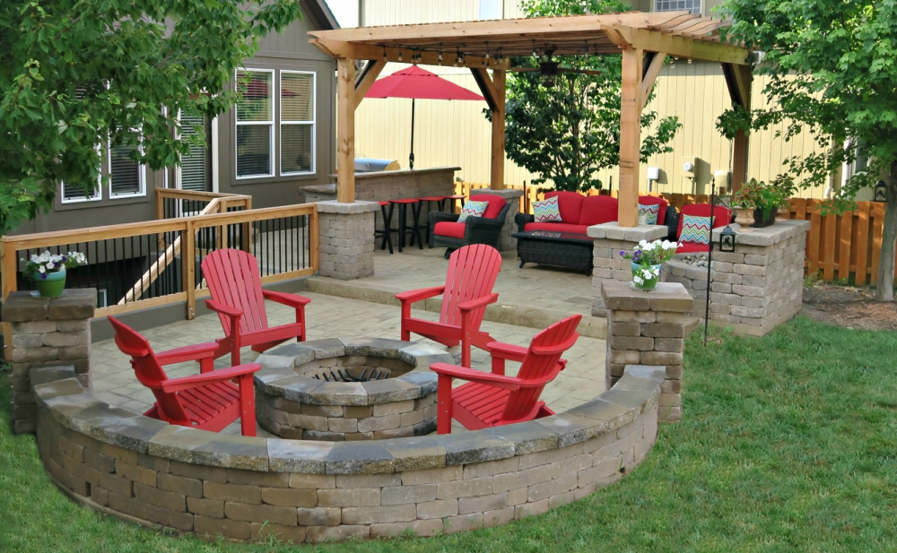 Ultimate Outdoor Retreat Kansas City - Before & After on Retreat Outdoor Living id=34931