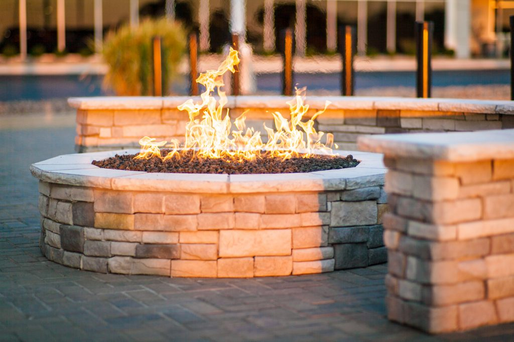 kansas city gas firepit