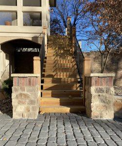 backyard staircase kansas city