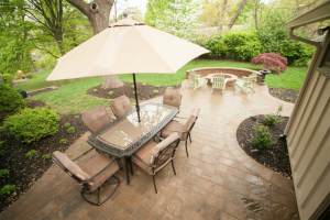 outdoor living space size kansas city