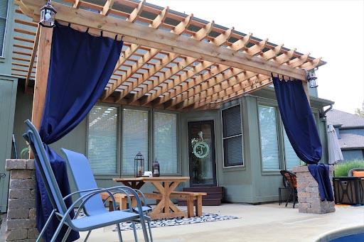 outdoor living area project kansas city