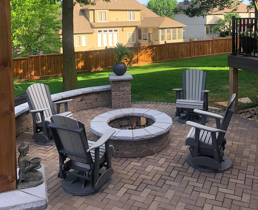 outdoor living transformation