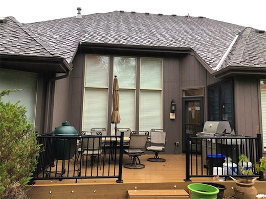 patio before transformation
